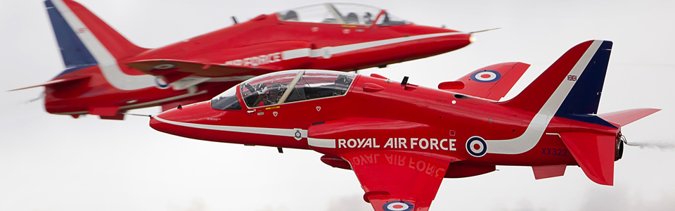 Action Photography - Red Arrows at RIAT, 2011