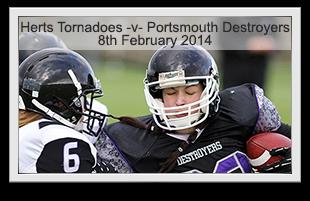 Tornadoes -v- Destroyers
