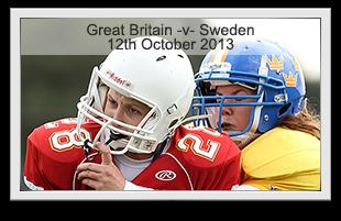 Great Britain -v- Sweden Ladies