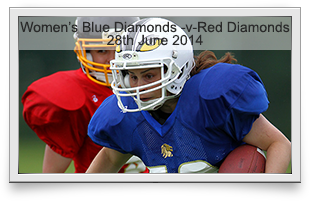 Blue Diamonds -v- Red Diamonds