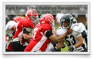 Kent Exiles Youth -v- Berkshire Renegades Youth