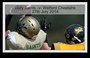 Bury Saints -v- Watford Cheetahs