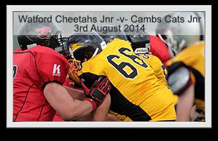 Watford Cheetahs Junior -v- Cambridgeshire Cats Junior