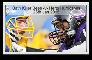 Bath Killer Bees -v- Hertfordshire Hurricanes