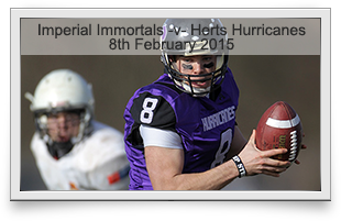 Imperial Immortals -v- Hertfordshire Hurricanes