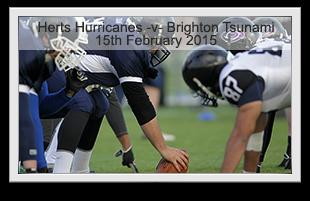 Hertfordshire Hurricanes -v- Brighton Tsunami