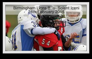 Birmingham Lions B -v- Solent Iceni