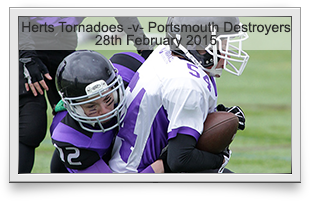 Hertfordshire Tornadoes -v- Portsmouth Destroyers