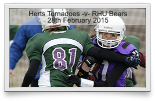 Hertfordshire Tornadoes -v- Royal Holloway Bears