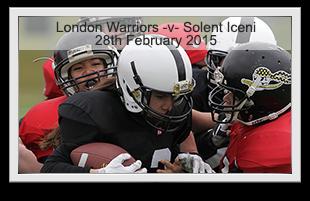 London warriors -v- Solent Iceni