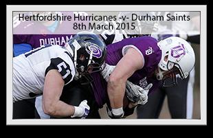 Hertfordshire Hurricanes -v- Durham Saints
