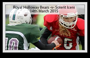 Royal Holloway Bears -v- Solent Iceni