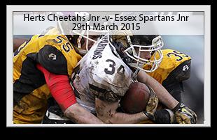 Hertfordshire Cheetahs Junior -v- Essex Spartans Junior