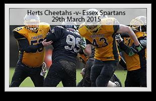 Hertfordshire Cheetahs -v- Essex Spartans