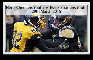 Hertfordshire Cheetahs Youth -v- Essex Spartans Youth