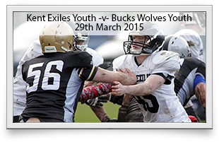 Kent Exiles Youth -v- Buckinghamshire Wolves Youth