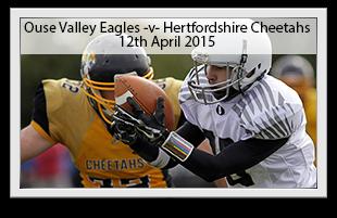 Ouse Valley Eagles -v- Hertfordshire Cheetahs
