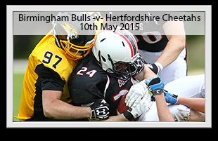 Birmingham Bulls -v- Hertfordshire Cheetahs