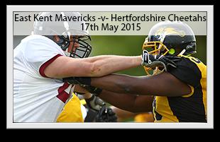 East Kent Mavericks -v- Hertfordshire Cheetahs