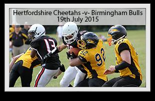 Hertfordshire Cheetahs -v- Birmingham Bulls