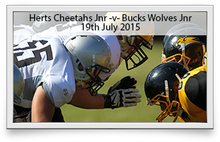Hertfordshire Cheetah Juniors -v- Buckingham Wolves Juniors